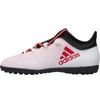 adidas Junior X Tango 17.3 TF Astro Football Boots Grey/Real Coral/Core Black