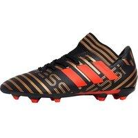 adidas Junior Nemeziz Messi 17.3 FG Football Boots Core Black/Solar Red/Tactile Gold Metallic