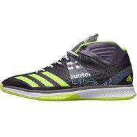 adidas Mens Counterblast Falcon Mid Handball Trainers Utility Black/Solar Yellow/Footwear White
