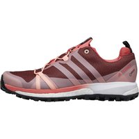 adidas Womens Terrex Agravic GTX GORE-TEX Trail Running Shoes Tactile Pink/Haze Coral/Cloud White