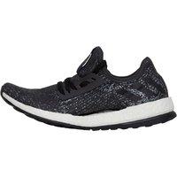 adidas Womens PureBOOST X Natural Running Shoes Utility Black/Core Black/Iron Metallic