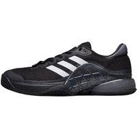 adidas Mens Barricade 2017 Clay Tennis Shoes Core Black/Night Metallic/Footwear White