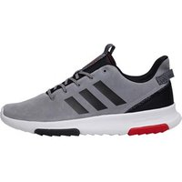 adidas Mens Cloudfoam Racer TR Trainers Grey Three/Core Black/Scarlet