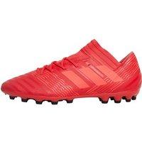 adidas Mens Nemeziz 17.3 AG Football Boots Real Coral/Red Zest/Core Black
