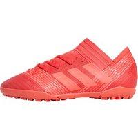 adidas Mens Nemeziz Tango 17.3 TF Astro Football Boots Real Coral/Red Zest/Core Black