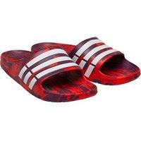 adidas Duramo Slides Scarlet/Footwear White/Core Red