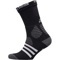 adidas Basketball ID Crew Socks Black/Dark Grey Heather/White