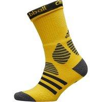 adidas Basketball ID Crew Socks Equipment Yellow/Dark Grey/Black