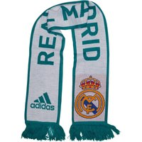 adidas RMCF Real Madrid Scarf White/Vivid Teal