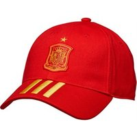 adidas FEF Spain 3 Stripes Cap Red/Bold Gold