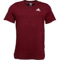 adidas Mens Cross-Up T-Shirt Collegiate Burgundy/Maroon