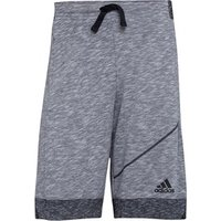 adidas Mens Cross-Up Fleece Shorts LGH Solid Grey/Black