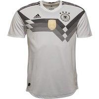 adidas Mens DFB Germany Authentic Home Shirt White/Black