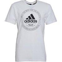 adidas Mens Adi Emblem T-Shirt White