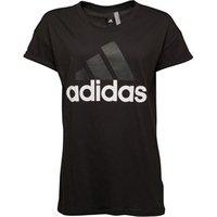 adidas Womens Essentials Linear Loose T-Shirt Black
