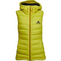 adidas Womens Frost Climaheat Puffer Jacket Bright Yellow