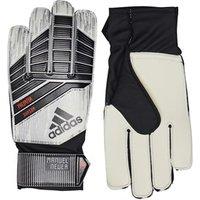 adidas Junior Predator Manuel Neuer Goalkeeper Gloves White/Silver Metallic/Solar Red
