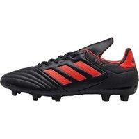 adidas Mens Copa 17.3 FG Football Boots Core Black/Solar Red/Solar Red