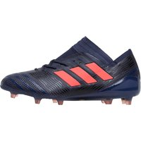 adidas Womens Nemeziz 17.1 FG Football Boots Trace Blue/Red Zest/Core Black
