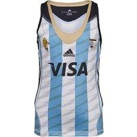 adidas Junior Girls Las Leonas CAH Argentina National Field Hockey Home Jersey Blue/White