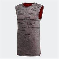adidas Mens Ball 365 Climalite Reversible Basketball Tank Top Scarlet