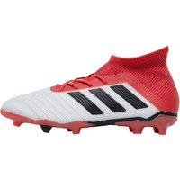 adidas Junior Predator 18.1 FG Football Boots White/Core Black/Real Coral