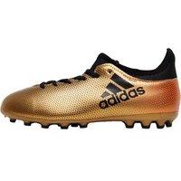 adidas Junior X17.3 AG Football Boots Tactile Gold Metallic/Core Black/Solar Red