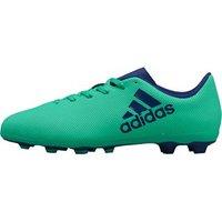 adidas Junior X 17.4 FxG Football Boots Aero Green/Unity Ink/Hi-Res Green