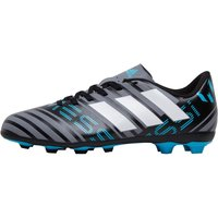adidas Junior Nemeziz Messi 17.4 FxG Football Boots Grey/White/Core Black