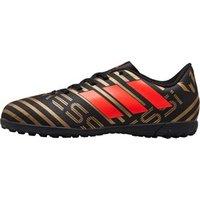 adidas Junior Nemeziz Messi Tango 17.4 TF Astro Football Boots Core Black/Solar Red/Gold