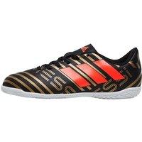 adidas Junior Nemeziz Messi Tango 17.4 IN Football Boots Core Black/Solar Red/Tactile Gold