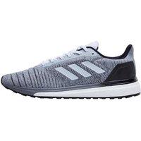 adidas Mens Solar Glide Neutral Running Shoes Footwear White/Footwear White/Core Black