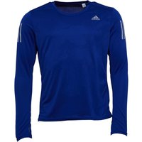 adidas Mens Response Long Sleeve Running Top Mystery Ink