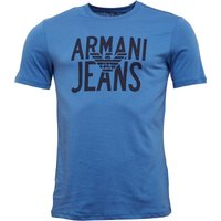 Armani Jeans Mens T-Shirt Blue