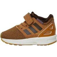 adidas Originals Infant Boys ZX Flux NPS 2.0 Trainers Medium Sand/Dark Brown/White