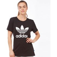 adidas Originals Womens Boyfriend Trefoil T-Shirt Black