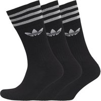 adidas-originals-trefoil-three-pack-solid-crew-socks-black-white
