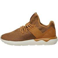adidas Originals Mens Tubular Runner Strap Weave Pack Trainers Mesa/Dark Brown/Off White