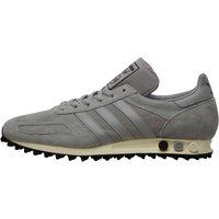 adidas Originals Mens LA Trainer OG Suede Trainers Medium Grey Heather/Medium Grey Heather/Core Black