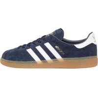 adidas Originals Mens Munchen Trainers Collegiate Navy/Footwear White/Gum3