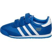 adidas Originals Junior Dragon OG CF Trainers Blue/White/Blue