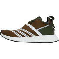 adidas Originals x White Mountaineering Mens Footwear NMD_R2 Primeknit Trainers Trace Olive/Footwear White/Footwear White