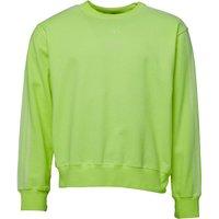 b5e65e34 adidas Originals x Alexander Wang Mens Bleach Sweatshirt Semi Solar Yellow