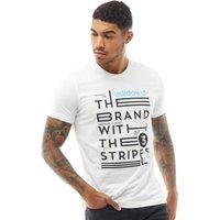 adidas Originals Mens Slogan T-Shirt White