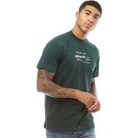 adidas Originals x Alexander Wang Mens Graphic T-Shirt Green Night