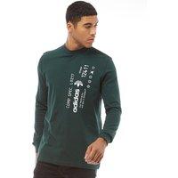 7299bf13 adidas Originals x Alexander Wang Mens Graphic Long Sleeve Green Night ·  MandM Direct offer