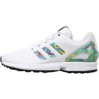 adidas Originals Junior ZX Flux Trainers Footwear White/Footwear White/Core Black