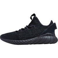 adidas Originals Mens Tubular Doom Sock Primeknit Trainers Core Black/Core Black/Trace Olive