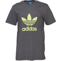 adidas Originals Mens Trefoil T-Shirt Dark Grey