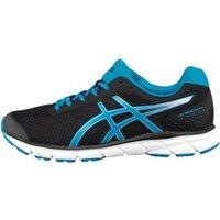 Asics Mens Gel Impression 9 Neutral Running Shoes Black/Blue Jewel/Silver